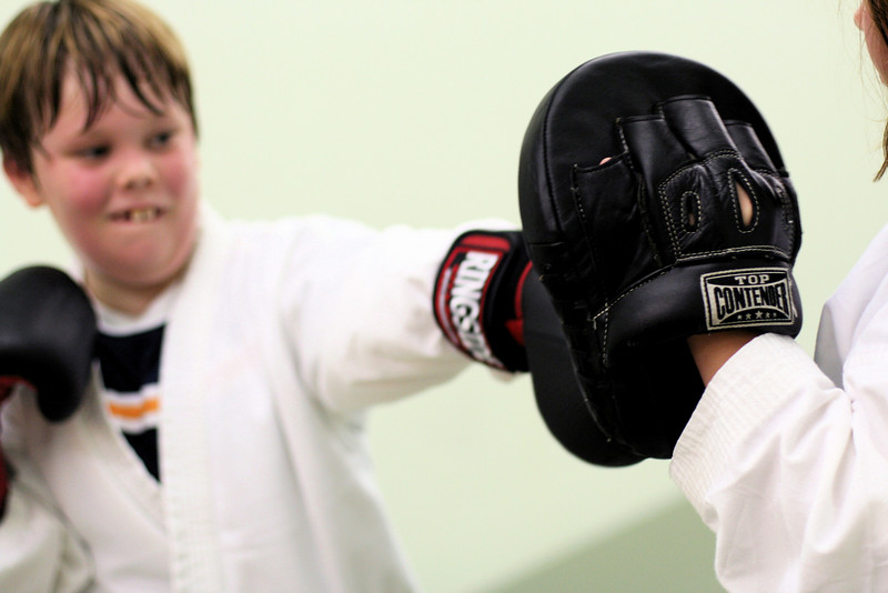 Ethan working his Jab.
