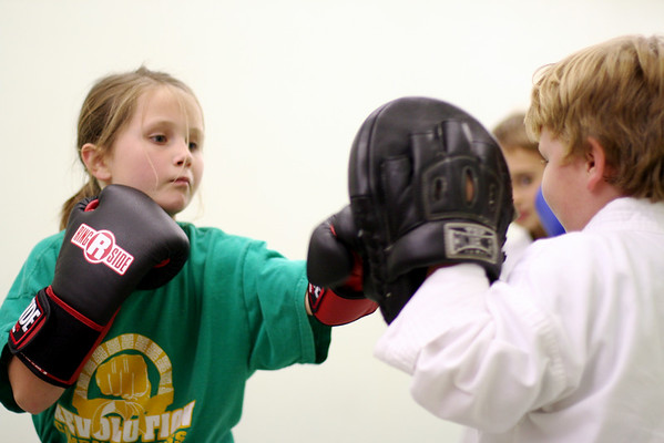 Cortney working her Jab with Jake