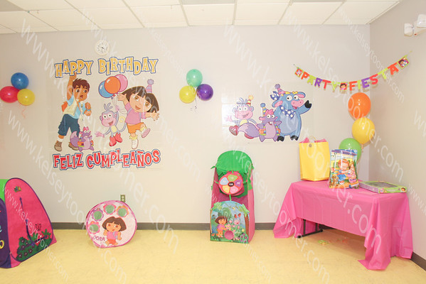 Kelis 2nd Dora Birthday Party