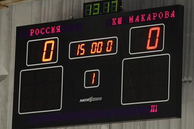 Школа Макарова (Челябинск) - Россия (Иркутск) 26:1. 26 декабря 2012