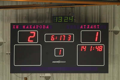 Школа Макарова (Челябинск) - Атлант (Московская область) 5:3. 27 декабря 2013