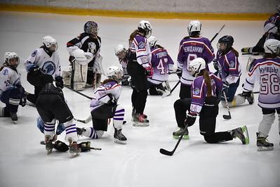 Школа Макарова. Тренировка команды девочек. 21 октября 2015