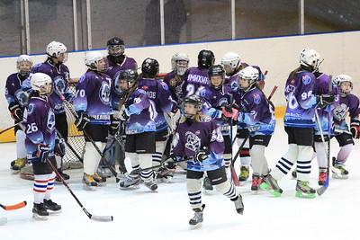 Новогодний турнир по хоккею среди девочек 2000-2002 годов рождения Снегурочка в эти дни проходит в челябинском дворце спорта Юность