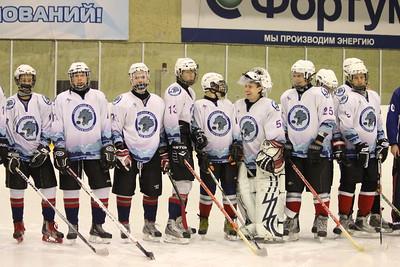 Кубок законодательного собрания Челябинской области. Открытие турнира 4 января 2012, детский хоккей