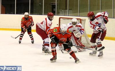 Локомотив-1997 (Ярославль) - Металлург-1997 (Новокузнецк) 5:1. 6 января 2012