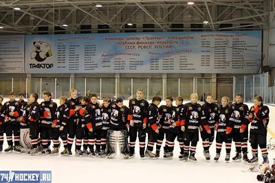 Закрытие турнира среди команд 2000-го года рождения. 15 апреля 2012