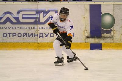 Сборная Челябинска-2002 - Северсталь-2002 (Череповец) 11:0. 10 апреля 2014
