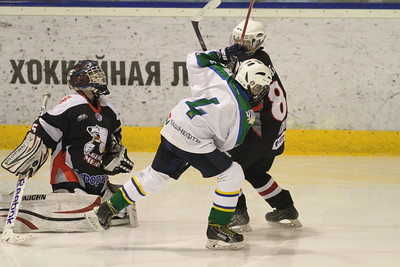 Белые Медведи-2003 (Челябинск) - Салават Юлаев-2003 (Уфа) 1:4. 21 февраля 2016