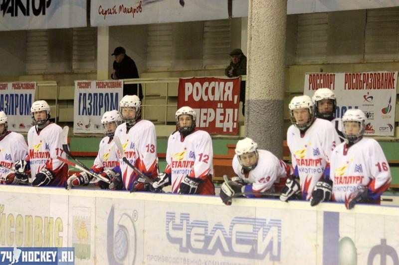 Трактор-1995 (Челябинск) - Металлург-1995 (Магнитогорск) 4:3. 11 февраля 2012