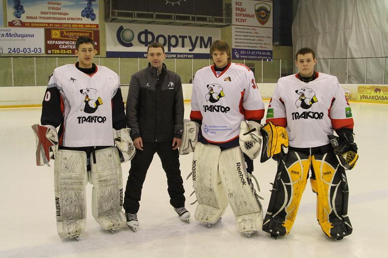 Сегодня в ледовом дворце Трактор прошли последние тренировки перед финалом чемпионата России.