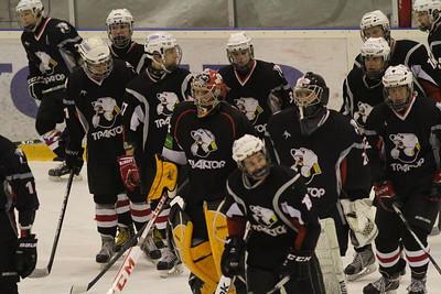 Команда Трактор 1997 года рождения выиграла у нижегородского Торпедо со счетом 10:4 в своем втором матче на групповом этапе финала чемпионата России