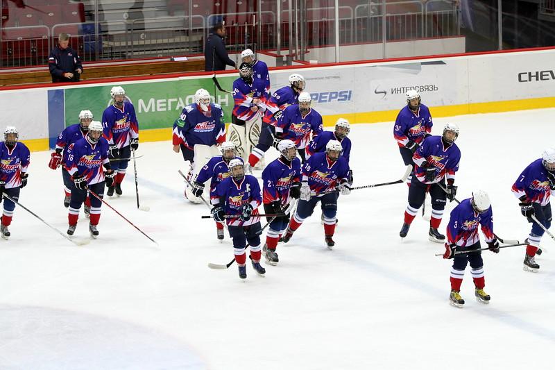 В Магнитогорске состоялись два полуфинальных матча чемпионата России среди команд 1998 года рождения.