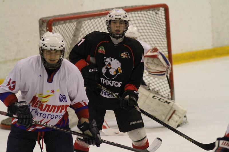 Команда Трактор 1998 года рождения обыграла магнитогорский Металлург в матче чемпионата России со счетом 8:2.