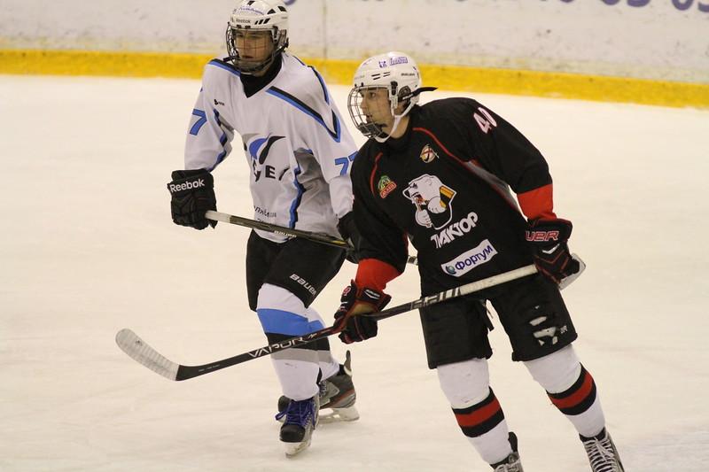 Команда Трактор 1998 года рождения обыграла в матче чемпионата России челябинский Мечел со счетом 7:1