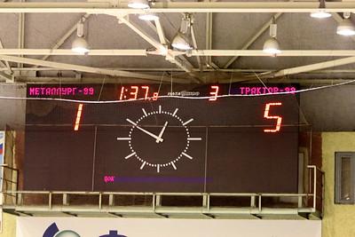 Трактор-1999 (Челябинск) - Металлург-1999 (Магнитогорск) 5:1. 18 февраля 2012