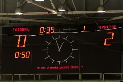 Трактор-2000 (Челябинск) - Газовик-2000 (Тюмень) 5:3. 22 декабря 2012