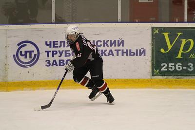 Трактор-2001 (Челябинск) - Авангард-2001 (Омск) 4:6. 12 декабря 2015