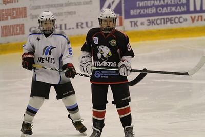Команда Трактор 2003-го года рождения обыграла сверстников из челябинского Мечела со счётом 8:3 в матче чемпионата России.