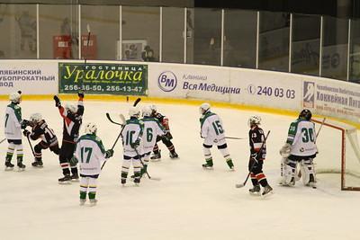 Трактор-2003 (Челябинск) - Салават Юлаев-2003 (Уфа) 5:1. 3 октября 2015