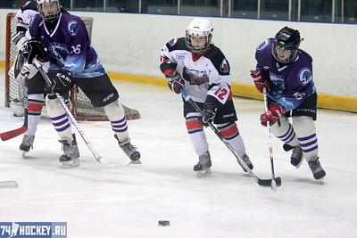 Школа Макарова-1999 (Челябинск) - Белые Медведи-1999 (Челябинск) 3:5. 22 января 2012