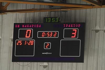 Школа Макарова-1996 (Челябинск) - Трактор-1996 (Челябинск) 0:10. 6 января 2013