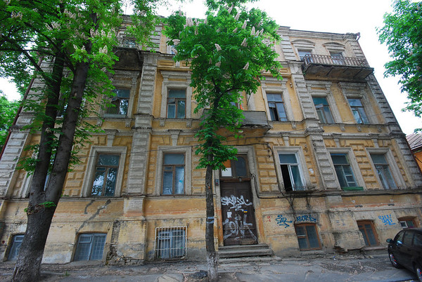 Derelict Town House in Kiev,Ukraine