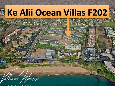 Ke Alii Ocean Villas F202 in Kihei, Maui, Hawaii. Research all Kihei Condos for sale, including Ke Alii Ocean Villas in South Maui, by visiting the superior website of VWonMaui, a partner of the famous 1MauiRealEstate.com project.
