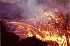 Lava slowly floods the surface 2 Oct 1999  #KIL1999-10