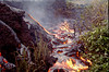 More lava burning the forest 2 Oct 1999  #KIL1999-7