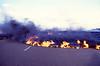 Lava crossing the road around 0800 21 Jul 2002 #KIL2002-4