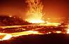 Lava flow before crossing road on 20 Jul 2002 #KIL2002-13
