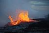 Nice explosion on the Waikupanaha entry