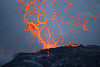 Nice breakup of lava spatter ramparts