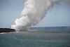 Ocean entry waterspouts at Waikupanaha