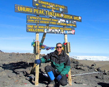 Day 6 - Kilimanjaro Climb, Rongai route Jan 2005