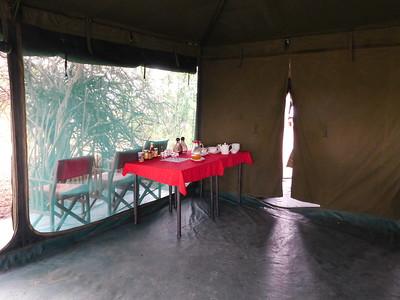 Natron Halisi dining tent