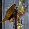 Golden eagle lectern