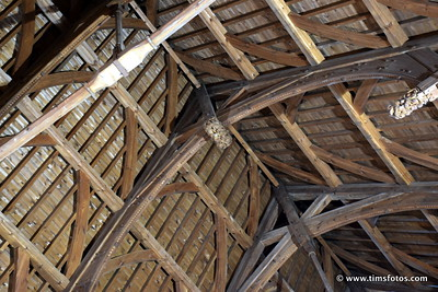Wooden roof detail