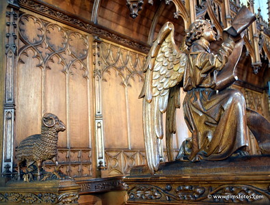 Carvings in choir