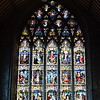 The Black Abbey 1225 AD stained glass window