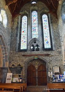 Main doors at end of nave