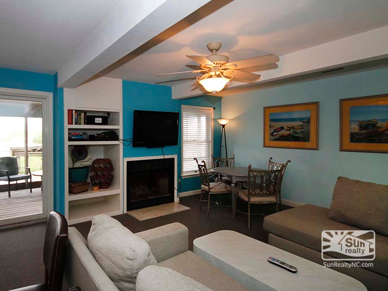 Mid-Level Living Area