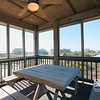 Screened-In Deck w/ Sound and Sunset Views