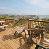 Oceanfront Deck with Pier and Ocean Views