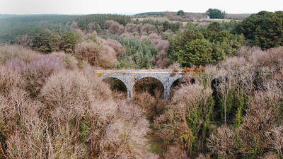 17th March 2021: Picture of Carrig Viaduct, Carrig, Killavullen, Co. Cork. Photo by Sean Jefferies Photography.