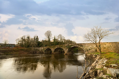 17th March 2021: Picture of Blackwater Bridge at Killavullen, Co. Cork. Photo by Sean Jefferies Photography.