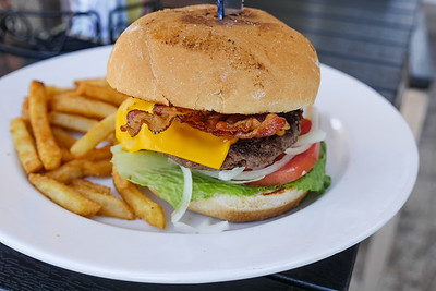 Bacon Cheeseburger with Fries