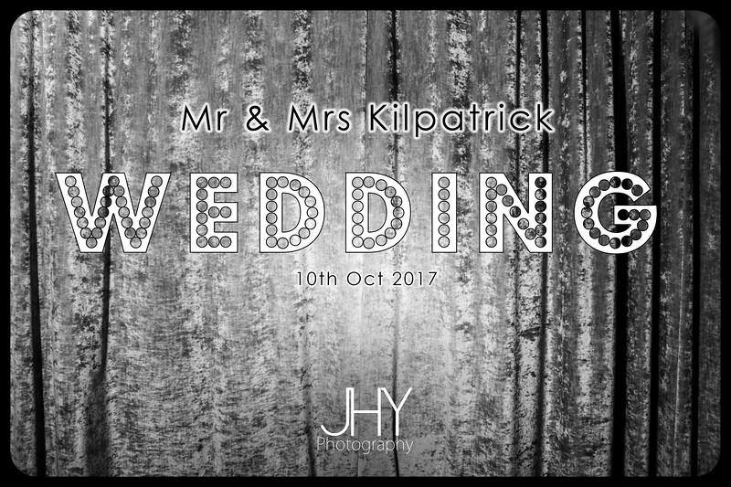 Sean & Tasha Kilpatrick Wedding 10 October 2017 Vintage Photobooth