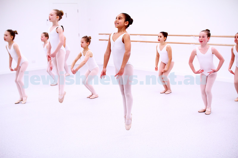 3-8-15. Kim Factor School of Dance. New studio in Glenhuntly Rd. Photo: Peter Haskin