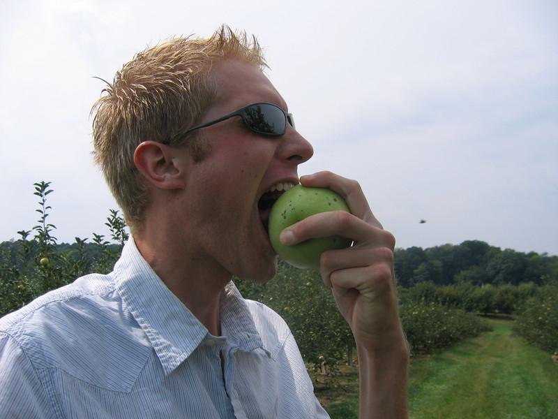 I like apples...alot!!!